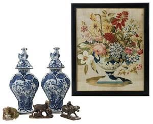 Six Decorative Items