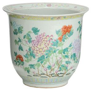 Chinese Enameled Jardinière