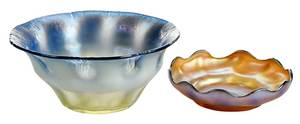Two Tiffany Favrile Bowls