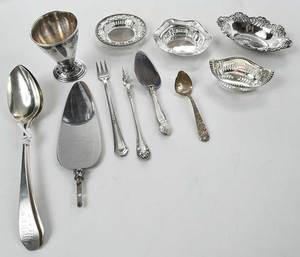 45 Silver Table Items