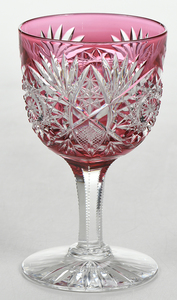 Hoare Brilliant Period Cut Glass Stem
