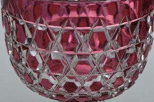 Three Dorflinger Brilliant Cut Glass Stems