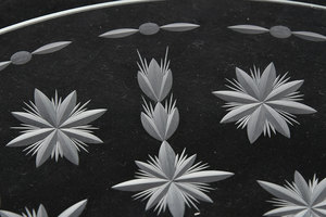 Ray La Tournous Etched Glass