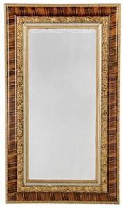 Faux Painted Beveled Glass Mirror