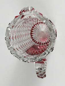 Brilliant Period Cut Glass Pitcher