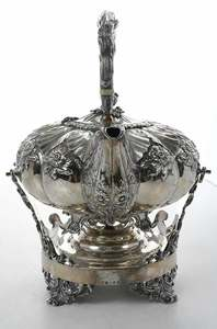 Scottish Silver Hot Water Kettle