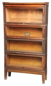 A Vintage Oak Stack Bookcase