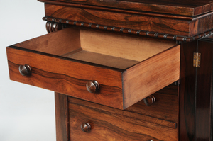 Victorian Rosewood Side-Locking Chest