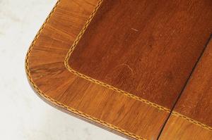 Regency Rosewood Inlaid Breakfast Table