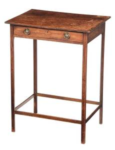 Regency Mahogany One Drawer Stand