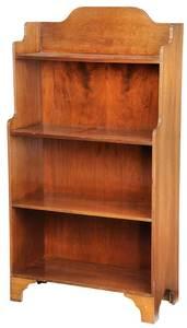 Regency Style Mahogany Book Shelf