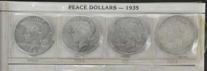 Two Sets of Silver United States Coins