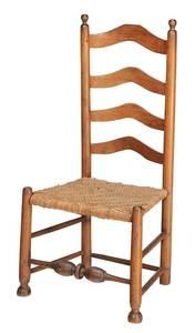 Early American Slat Back Side Chair