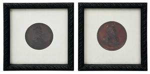 Two American Commemorative Bronze Medals