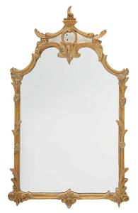 Chippendale Style Carved Mirror