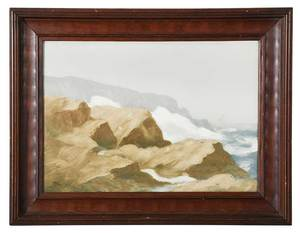 Maine Rookwood Framed Plaque by Sturgis Laurence