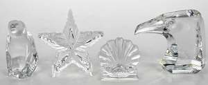 17 Pieces Baccarat, Waterford Crystal