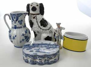 Group of Assorted Decorative Ceramic Articles