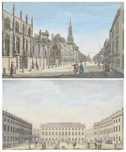 Two 18th Century Architectural Engravings