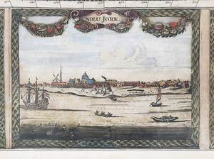 Pieter Schenk, Nova Totius Americae Tabula