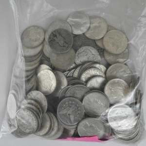 Approximately 66 Troy Ounces of Silver Coins