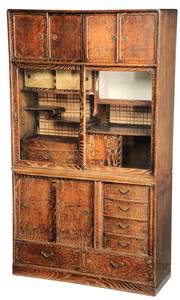 Asian Decorated Cabinet