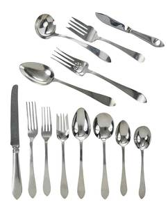 Tiffany Faneuil Sterling Flatware, 84 Pieces