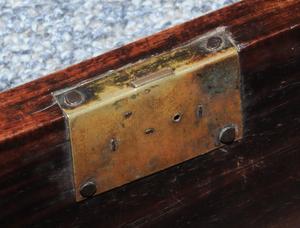 Chinese Export Huang Huali Cylinder Desk