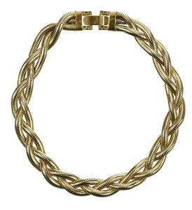 14kt. Braided Necklace