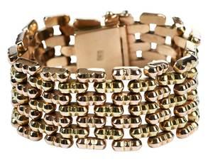 18kt. Link Bracelet