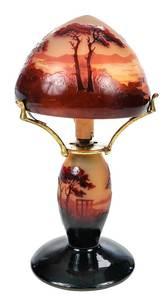 d'Argental Glass Lamp