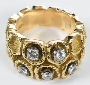 18kt. Diamond Ring