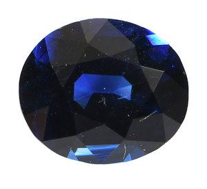 1.43ct. Blue Sapphire