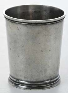 Charleston Coin Silver Mint Julep Cup