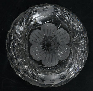 Brilliant Period Cut Glass Ferners, Vanity Items