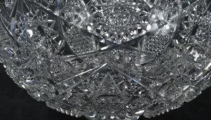 Three Brilliant Period Cut Glass Bowls
