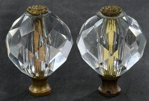 Cut Glass Tiebacks