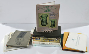 Cut Glass Reference Books and Catalog Reprints