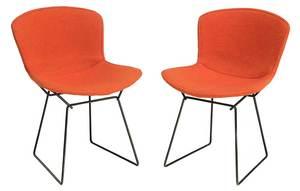 Pair Herry Bertoia Knoll Side Chairs
