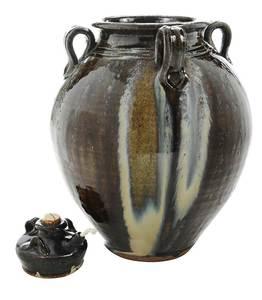 Kim Ellington Stoneware Jar