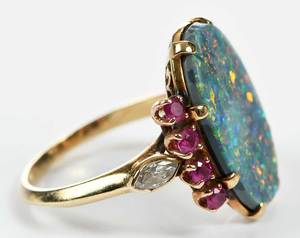 14kt. Gemstone Ring