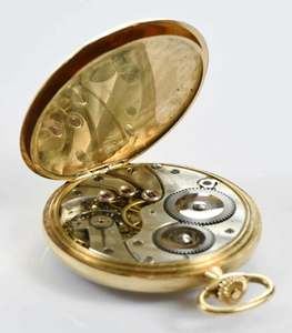 Tiffany & Co., Longines 18kt. Pocket Watch
