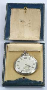 Longines Platinum Pocket Watch