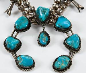 Four Pieces Sterling Southwestern Jewelry