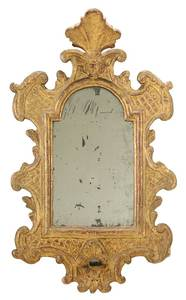 Venetian Baroque Gilt and Mirrored Sconce