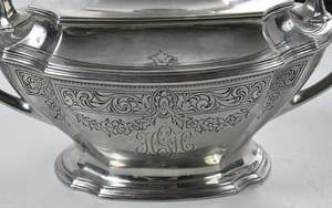 Five Piece Gorham Sterling Tea Service with Tray