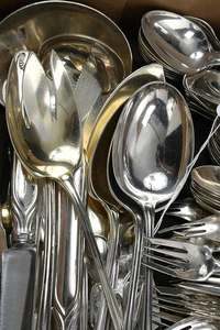 Tiffany Palm Sterling Flatware,
