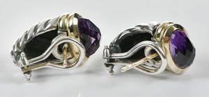 Two Pairs David Yurman Earrings