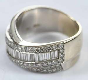 18kt. Diamond Ring