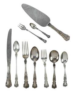 Gorham Buttercup Sterling Flatware, 135 Pieces
